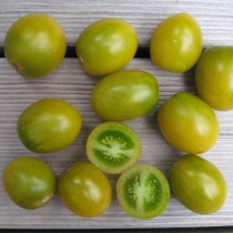 Tomate (Busch) - Green Grape